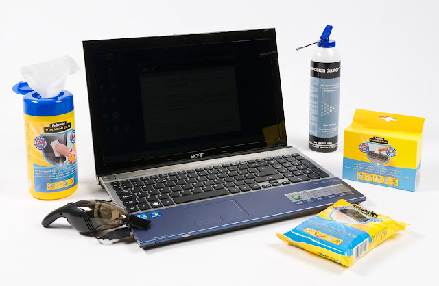 Here's How to Clean Your Laptop Properly