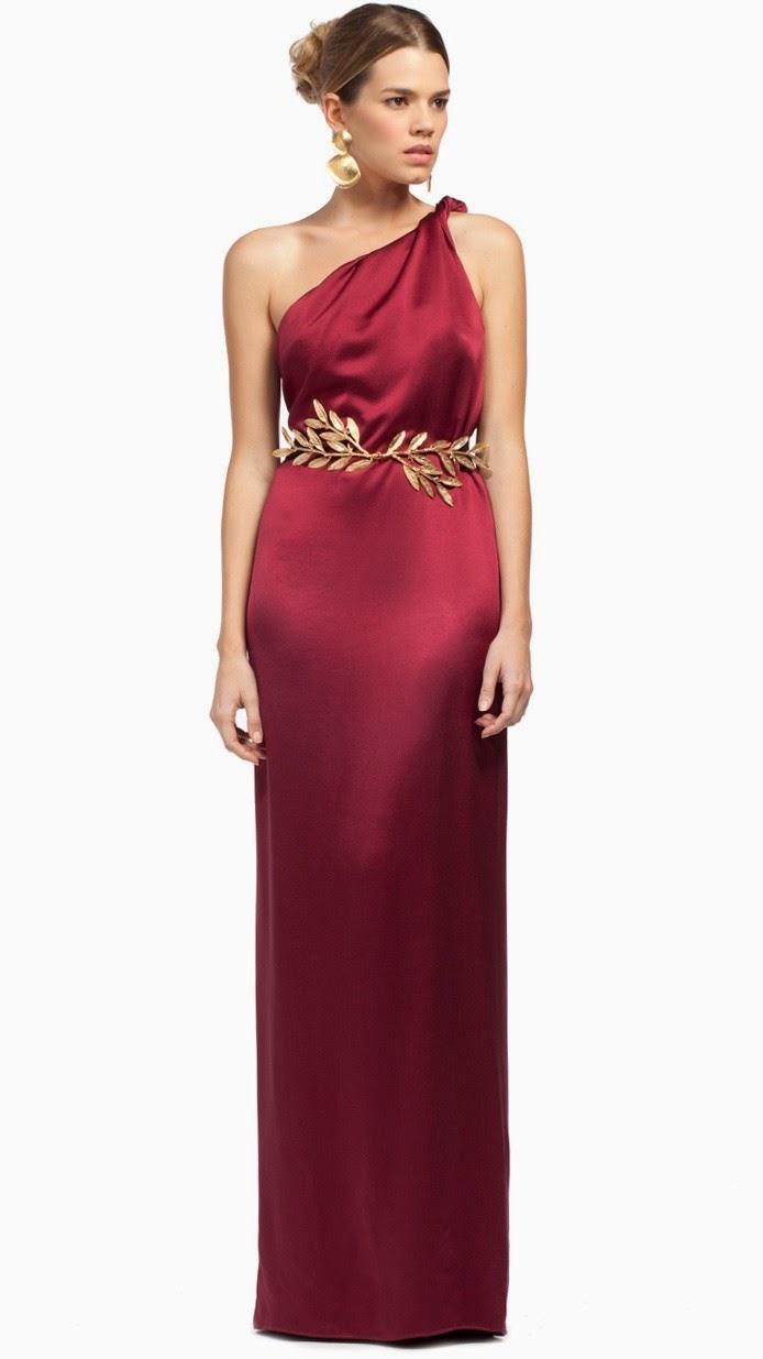 8ebd12a59 Para las bodas de noche siempre elijo vestidos largos y un buen  complemento  un cinturón