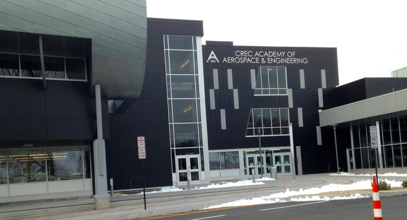 Best Aerospace Engineering Schools >> travels: CREC Academy of Aerospace & Engineering, Windsor,Connecticut