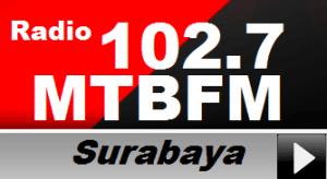 Radio 102.7 MTB FM Surabaya