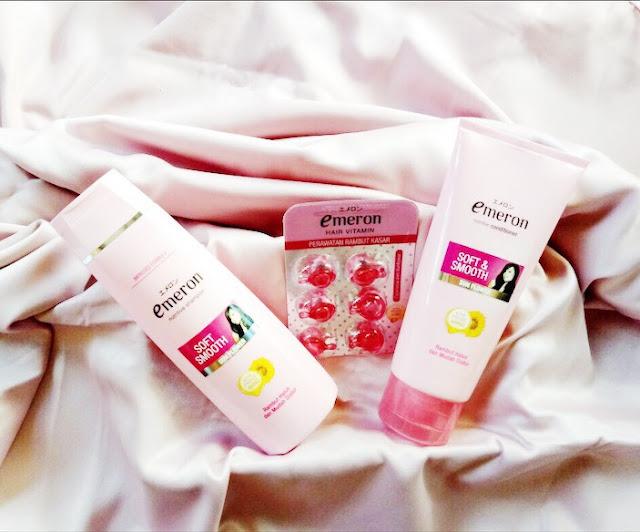 perawatan rambut alami emeron shampoo lya amalia