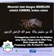 Memulai Chat Dengan Bismillah Adalah Sunnah