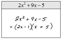 OpenAlgebra.com: Factoring Trinomials of the Form ax^2