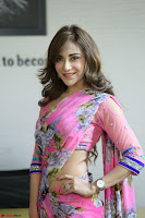 Actress Angela Krislinzki in Pink Saree Blouse Exclusive Pics March 2017 ~  122.JPG