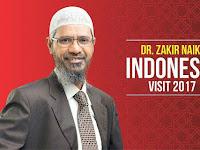 Fix! Inilah Jadwal Safari Dakwah Zakir Naik di Sejumlah Kota di Indonesia