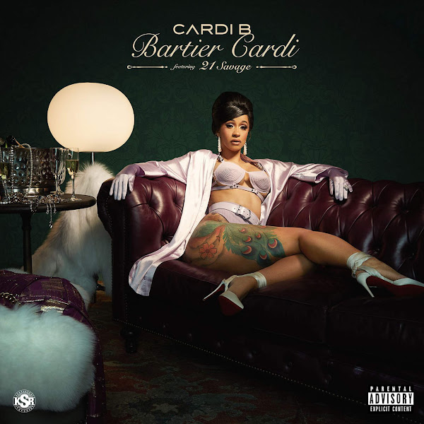 Cardi B - Bartier Cardi (feat. 21 Savage) - Single Cover