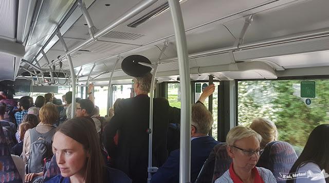 ônibus de serviço da Deustch Bahn