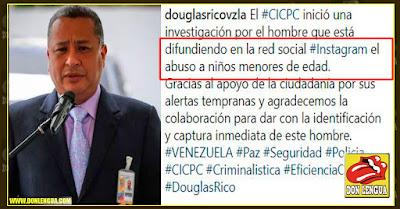 """Douglas Rico investiga abusos a """"Niños Menores de Edad"""" en Instagram - (hay niños mayores?)"""