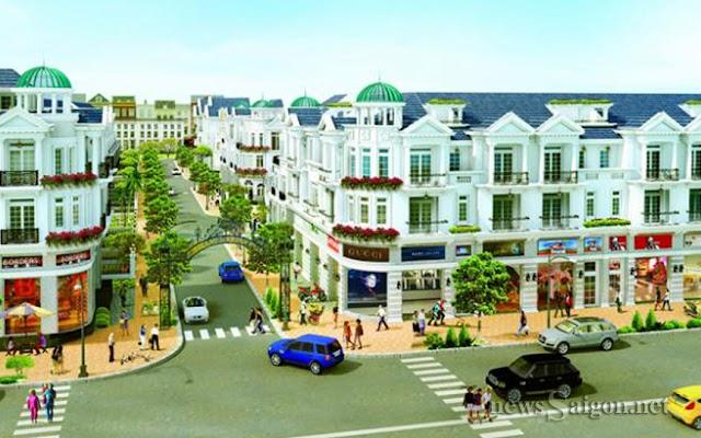 Dự án Hiệp Thành city: Khu phức hợp thương mại dịch vụ của Quận 12