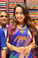 Pragya Jaiswal in colorful Saree looks stunning at inauguration of South India Shopping Mall at Madinaguda ~  Exclusive Celebrities Galleries 008.jpg