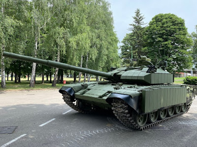 Upgrade Baru MBT M-84 AS1 Serbia