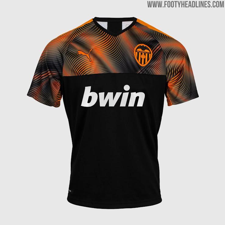 Valencia 19-20 Home & Away Kits Released - Footy Headlines