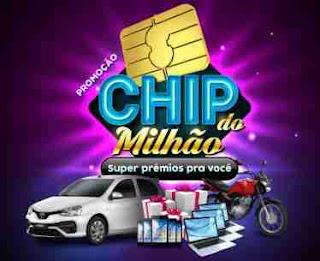 Cadastrar Promoção Chip do Milhão Credz Cartões 2018 Prêmios Participar