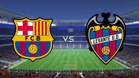 Barca đã giành chiến thắng trước Levante