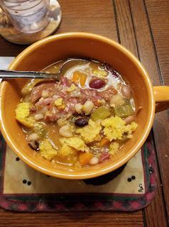super food, no soak bean method, no soak 15 bean soup recipe, great soup recipe with beans,