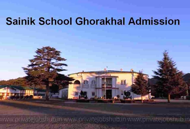Sainik School Ghorakhal Admission