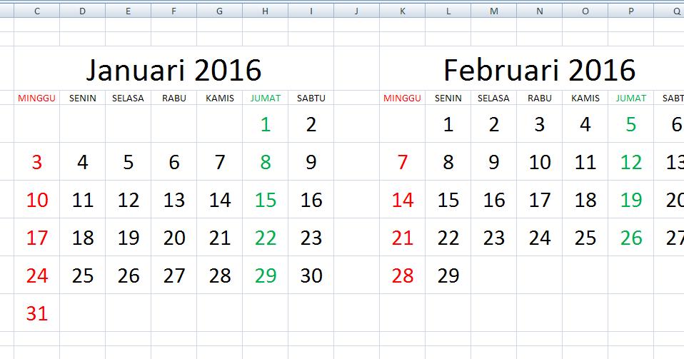 Cara Cepat Membuat Kalender di Excel Menggunakan Rumus