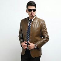 jaket kulit asli pria model terbaru