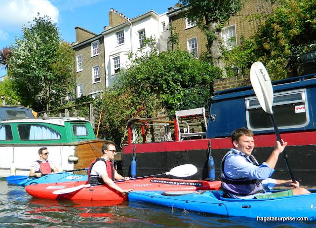 Londres: passeio de barco no Regent's Canal