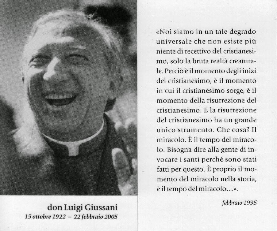 Frasi Matrimonio Don Giussani.Leggiamo Un Libro Un Quotidiano Un Post Un Film Amo I