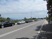 Gužva za trajekt trajektna luka Supetar slike otok Brač Online