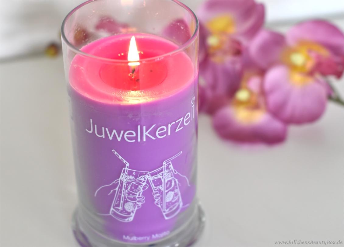 JuwelKerze Mulberry Mojito -  Erfahrung und Duftbeschreibung