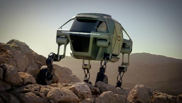 بالفيديو: هيونداي تكشف عن سيارة من أفلام الخيال العلمي!