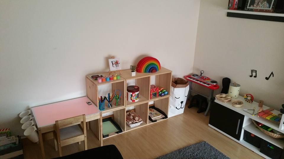 Pequefelicidad Montessori En Un Mini Piso Un Ambiente Real