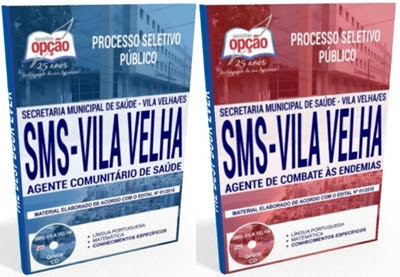 Apostila SEMSA Vila Velha processo seletivo 2018
