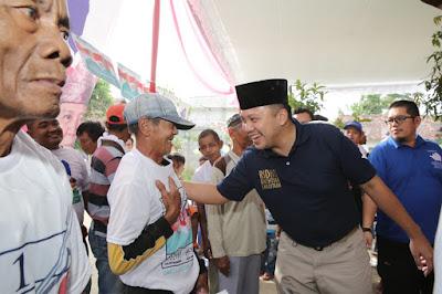 Lanjutkan, Petani Adi Jaya Lamteng Dukung Ridho-Bachtiar Kembali Pimpin Lampung