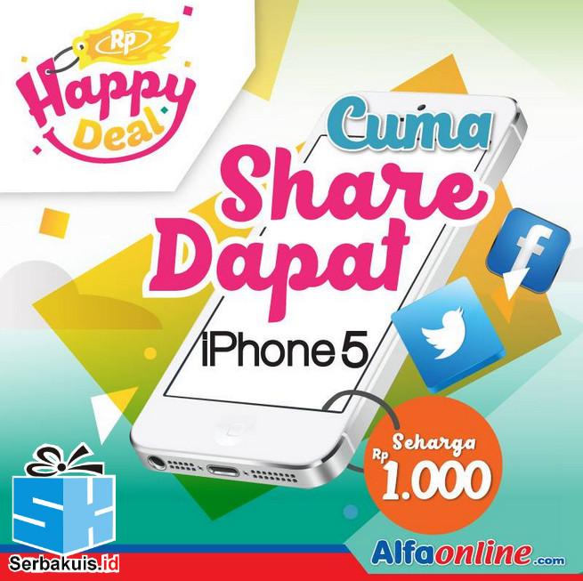 Kontes Share Berhadiah iPhone 5 seharga Rp 1000