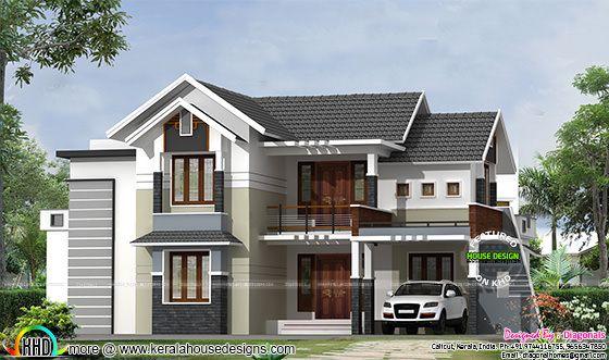 Modern mix traditional house architecture  Kerala home design  Bloglovin