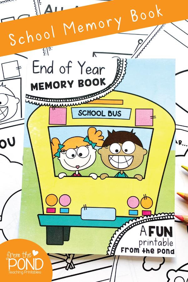 End of Year School Activities Printable