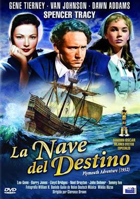 La nave del destino (1952) | Cartel | Caratula | Cine Clásico