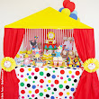 Real Parties: My Babies' Big Top Circus Birthday Party!!