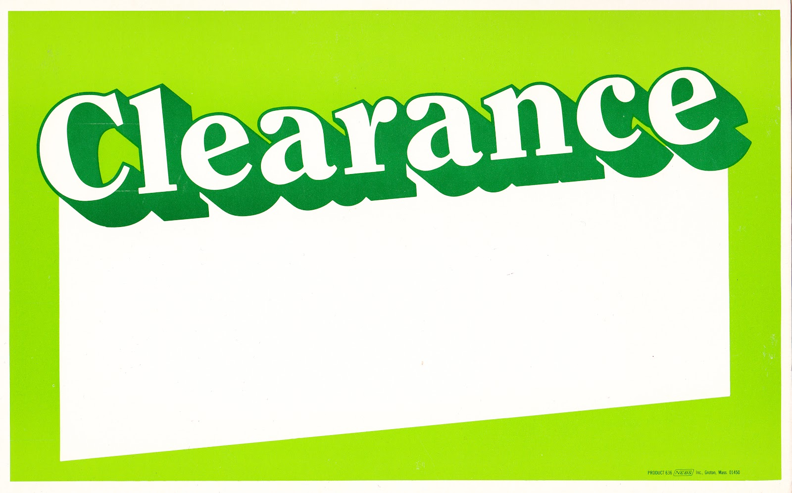 Frankie's Apartment: Clearance Sale Special