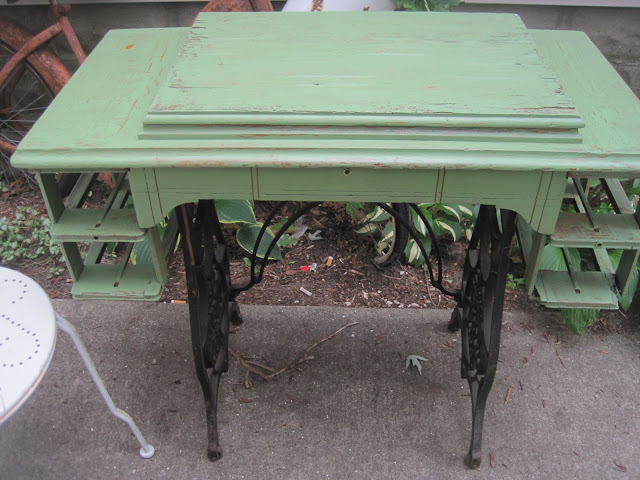 Treadle Sewing Machine front