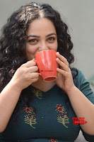 Nithya Menon promotes her latest movie in Green Tight Dress ~  Exclusive Galleries 031.jpg