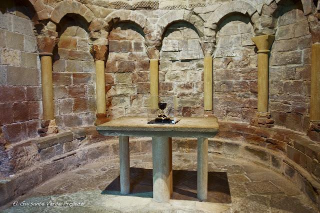 Monasterio de San Juan de la Peña, Santo Grial, por El Guisante Verde Project