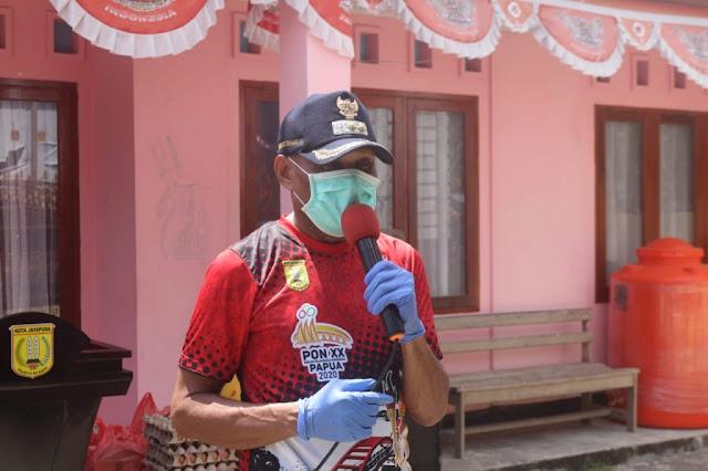 Benhur tomi Mano Minta Warga 14 Kampung Masih Zona Hijau Tetap Berada Di Rumah