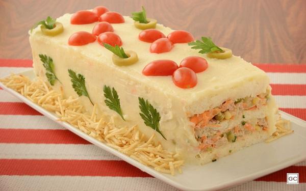 Receita de torta fria light (Imagem: Reprodução/Guia da Cozinha)
