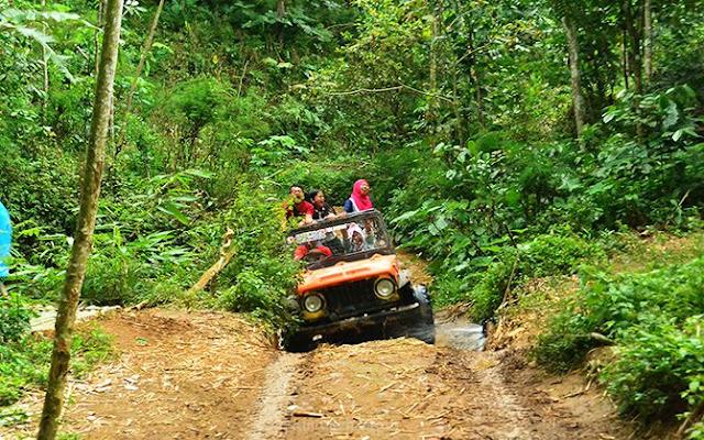 Uji Adrenalin di Trek Offroad Nglinggo, Kulon Progo
