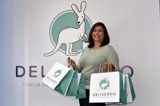 Diana Morato, Deliveroo España. EFE/José Carlos Pedrouzo