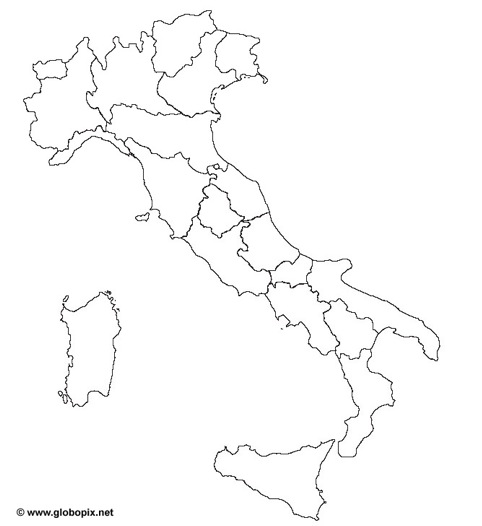 Cartina Italia Vuota.Diario Di Scuola Geografia Italia Cartina Muta