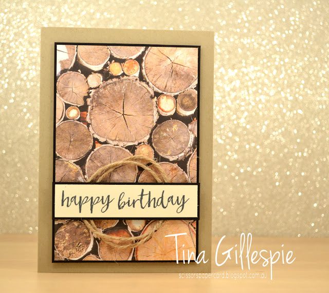 scissorspapercard, Stampin' Up!, Wood Textures DSP, Milestone Moments, Soft Sayings