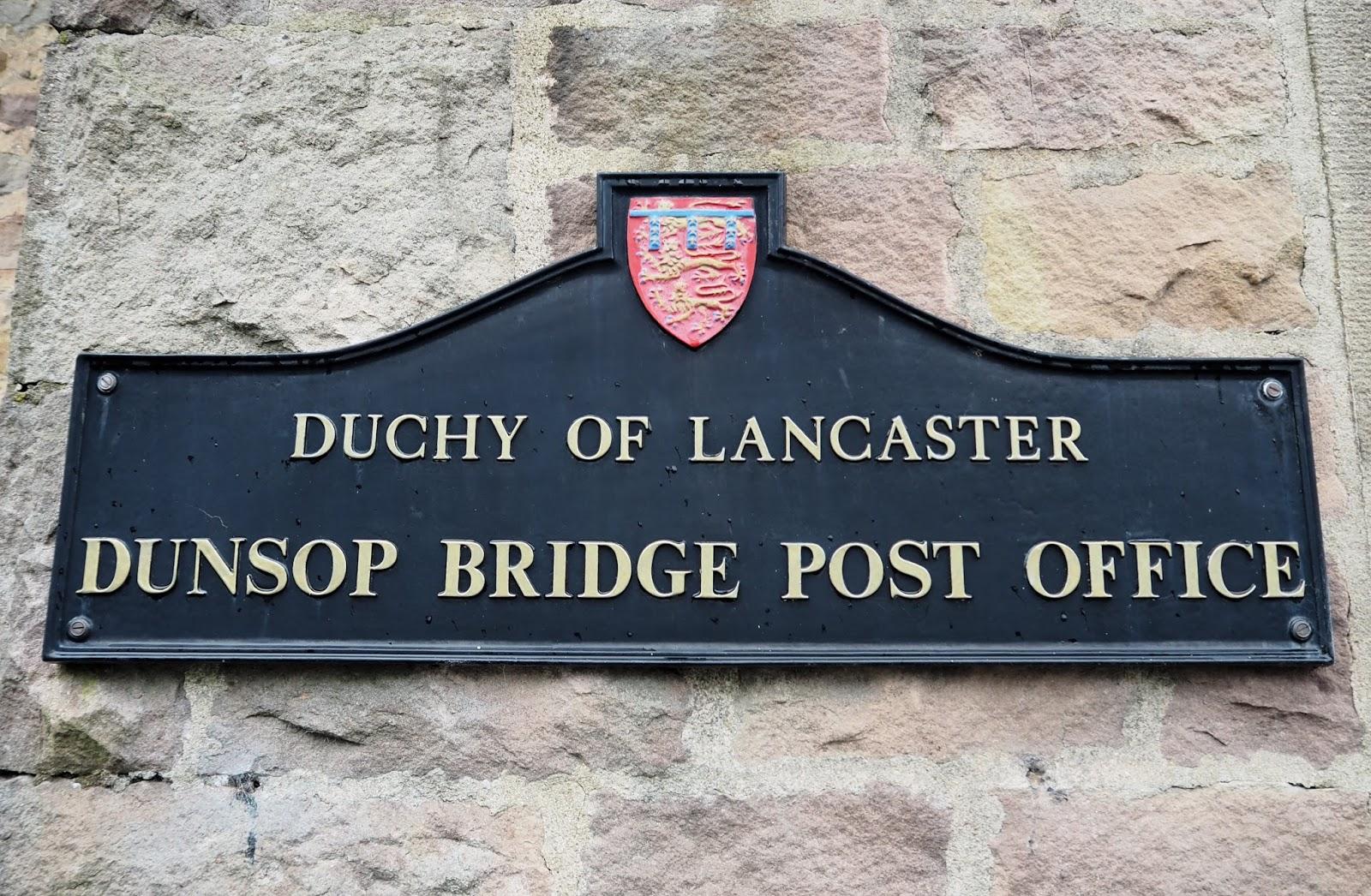 Dunsop Bridge post office