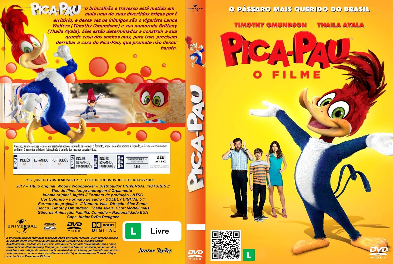 Junior dvds capa do filme pica pau o filme capa 2 for O jardineiro fiel capa