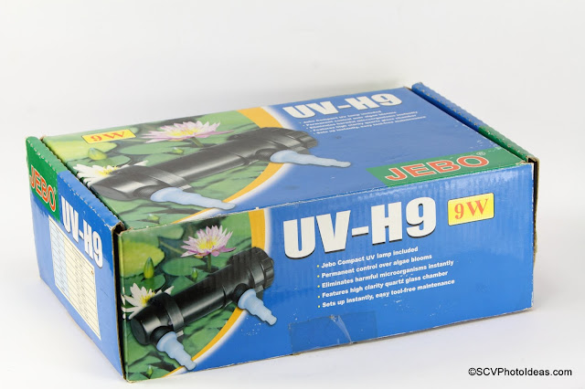 JEBO UV-H9 Retail Box sideview