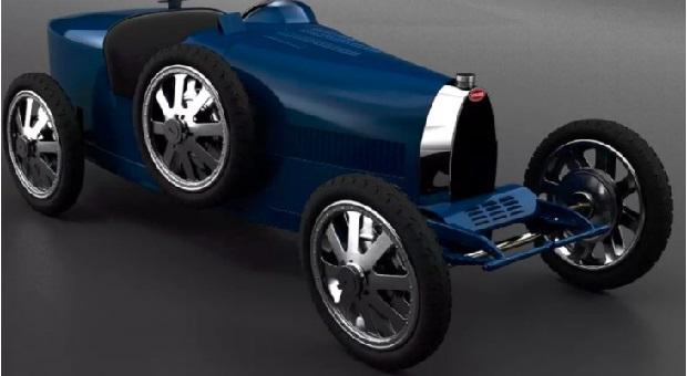 Bugatti Baby II, Mobil Khusus Anak Seharga Hampir Setengah Miliar