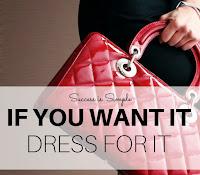 Se queres algo, veste-te para isso